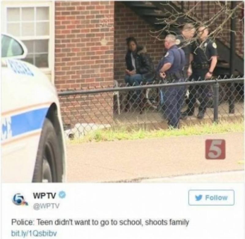لن تصدقوا لماذا أطلق ابن الـ16 عاماً النار على أفراد أسرته!