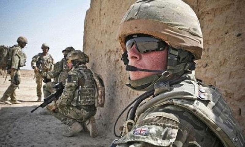 القوات البريطانية تتدرب في الأردن...!