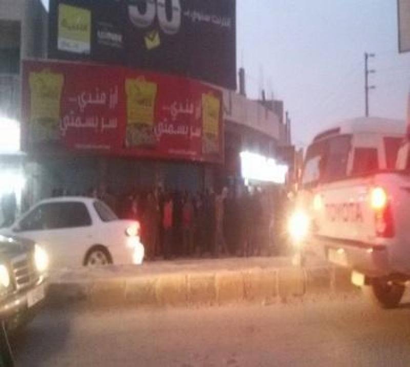 ملثم مجهول يغتال تاجر في محله بمحافظة الكرك