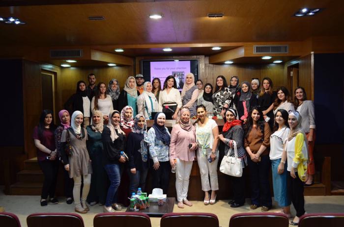 محاضرة للدكتورة فريدا طنوس في جامعة عمان الأهلية