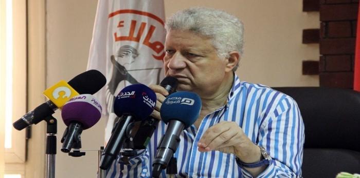 رئيس نادي الزمالك..اختيار الحكم للانتقام من الفيصلي بعد أن فازوا على الأهلي مرتين