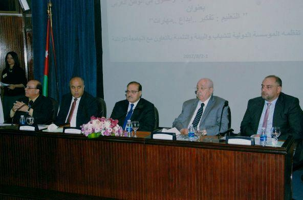 عمان الاهلية تشارك بالمؤتمر العربي السادس لأبحاث الموهبة والتفوق