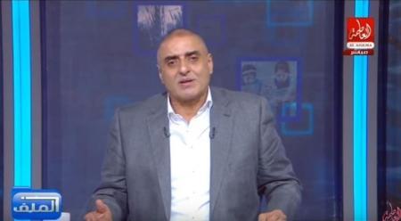 """اعلامي مصري يهاجم الفلسطينيين ويصفهم بـ""""الأنجاس"""""""