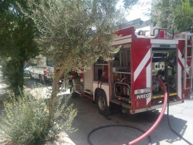 حريق منزل في ضاحية الرشيد دون وقوع أية إصابات