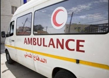 3 اصابات إثر حادث سير وانقاذ ٥ مواطنين علق بهم مصعد عمارة
