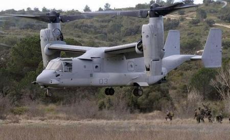 هبوط اضطراري لطائرة عسكرية أميركية في سورية!