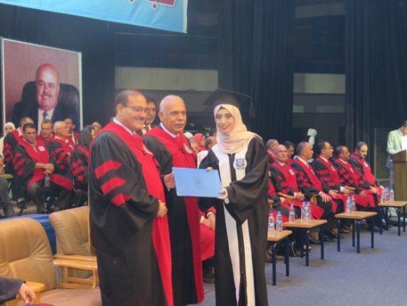 أ.د. الطويسي يرعى احتفال جامعة عمان الاهلية بتخريج الفوج الرابع والعشرين