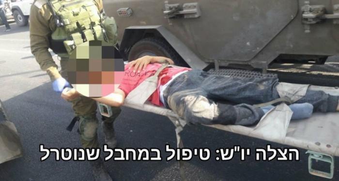 إصابة شاب برصاص الاحتلال قرب مستوطنة كريات أربع