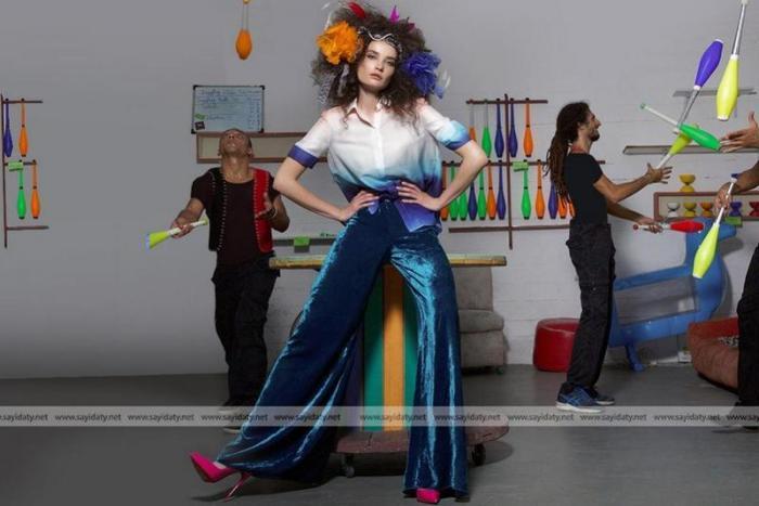 أزياء مستوحاة من عالم السيرك!
