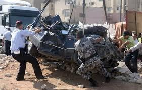العقبة.. وفاة شخصين وإصابة اثنين آخرين اثر حادث تدهور
