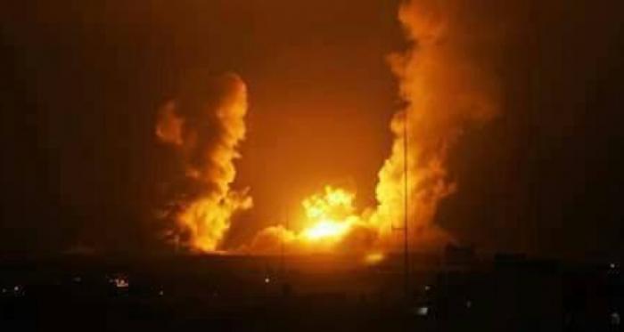 طائرات الاحتلال تقصف محيط مطار دمشق الدولي