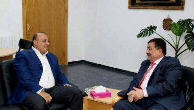 بحث التعاون بين جامعة عمان الاهلية وبلدية السلط الكبرى