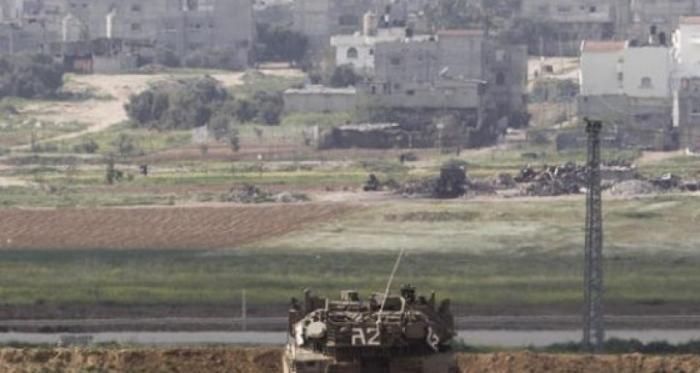 الاحتلال يستهدف أراضي المواطنين شمال بيت حانون