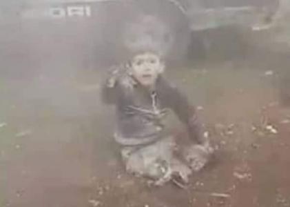 بالفيديو ...ماذا حل بالطفل صاحب العبارة الشهيرة