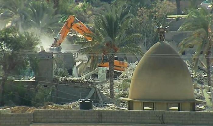 مصر تبدأ المرحلة الثالثة من المنطقة العازلة مع غزة