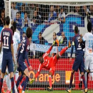 كافاني ينقذ باريس سان جيرمان من الهزيمة بالوقت القاتل امام مرسيليا