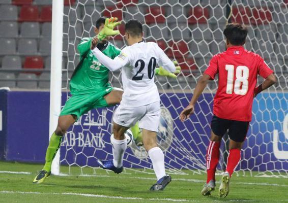 تأهل المنتخب الأردني إلى نهايات آسيا بفوزه على كمبوديا بنتيحة 1 /0