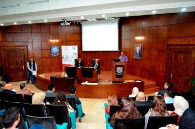 الدائرة الطبية وكلية الصيدلة في جامعة عمان الأهلية تنظمان ورشة عمل