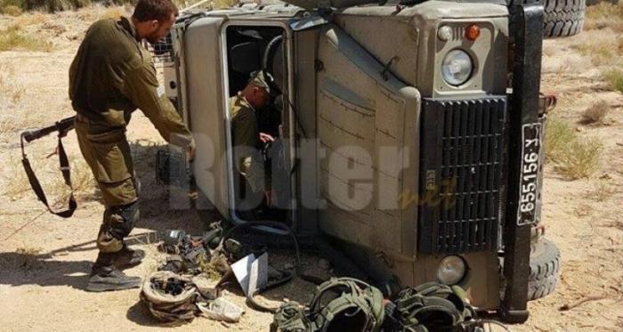 إصابة جندي