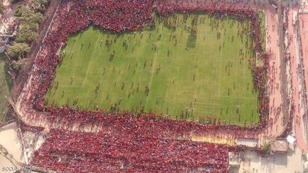 اهتمام عالمي بصورة جماهير الأهلي المصري