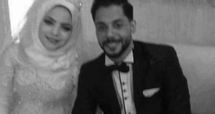 وفاة عروسين يوم