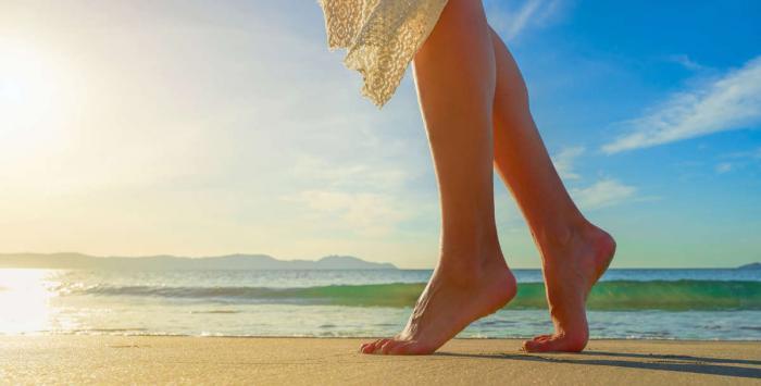 تخلصي من سموم جسمكِ من خلال قدميكِ