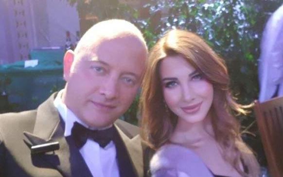 نانسي عجرم تتألق برفقة زوجها في حفل عشاء في موناكو