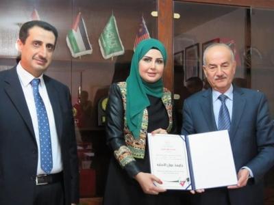 جامعة عمان الاهلية تحصل على شهادة ضمان الجودة من هيئة اعتماد مؤسسات التعليم العالي وضمان جودتها