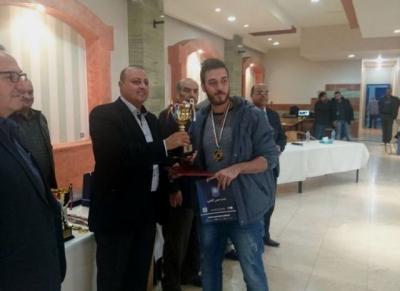 الدكتور ماهر الحوراني يكرم الفائزين في دورة الوفاء الرياضية