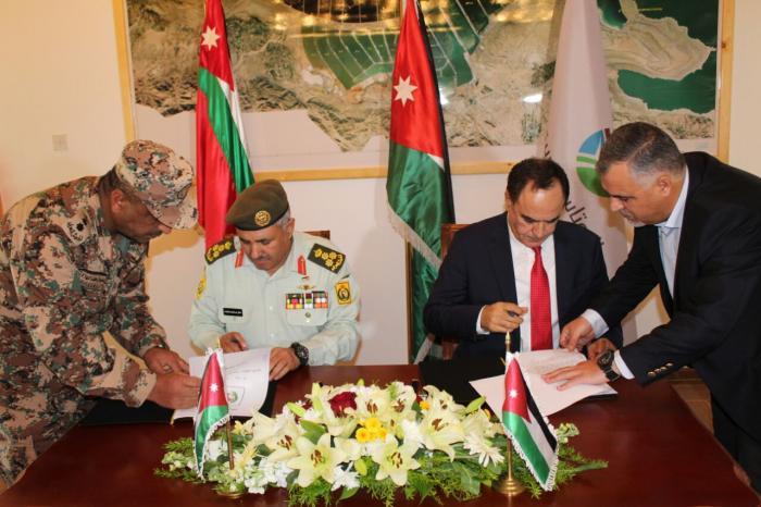 اتفاقية بين القوات المسلحة و'البوتاس'