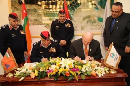 اتفاقية تعاون بين الدفاع المدني والبوتاس