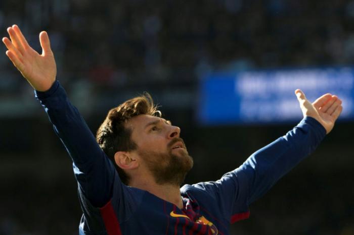 تسريب عقد ميسي مع برشلونة