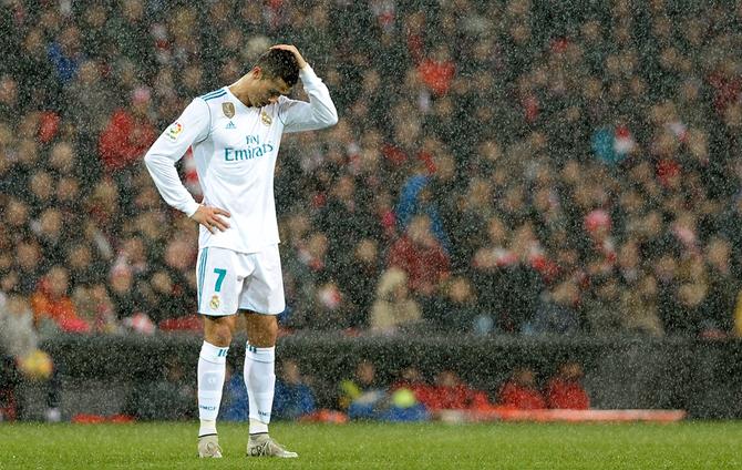 رونالدو يودع ريال مدريد
