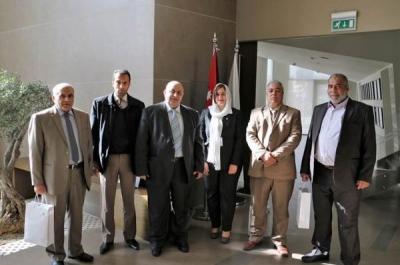 بنك صفوة الاسلامي يستقبل وفدا من المصرف التجاري الليبي
