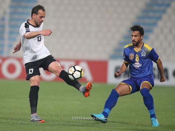 لاعبو القوة الجوية يتهمون الحكم بسرقة الفوز أمام الجزيرة