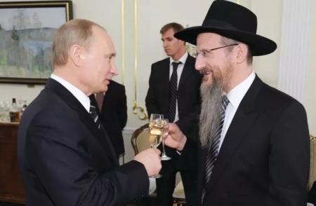 حاخام روسيا.. بوتين يريد مصلحة إسرائيل في سوريا!