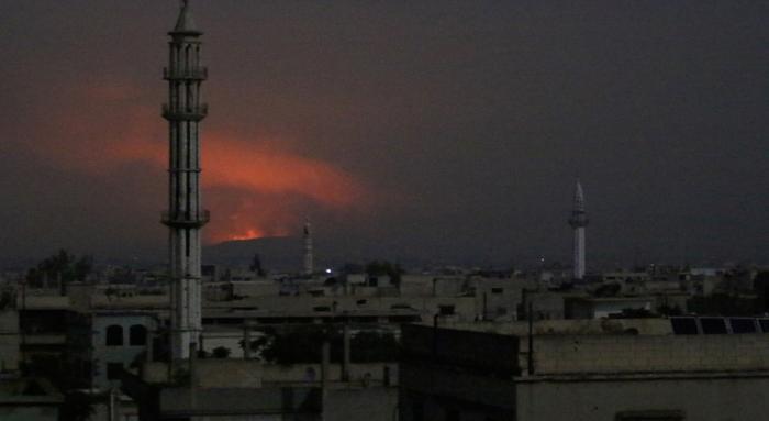 مقتل 18 عسكريا إيرانيا بهجوم صاروخي بريف حماة