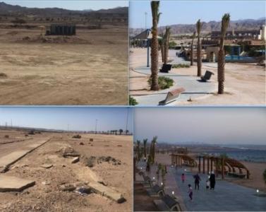 متنزه العقبة البحري اهمال وتخريب..!