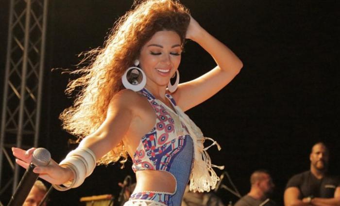 بالفيديو.. رقصة ميريام فارس الغريبة تعرضها للسخرية