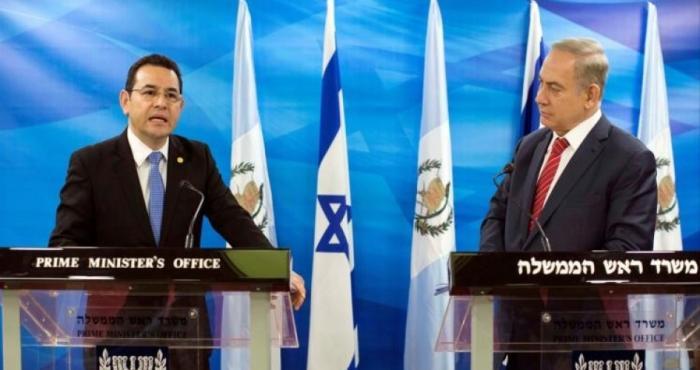 غواتيمالا تنقل سفارتها للقدس دون اي حراك عربي