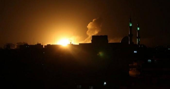 فجر أول أيام شهر رمضان ..الاحتلال يشن غارات على غزة