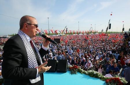 أردوغان: إذا لم نحمى القدس فقبلتنا بمكة مهددة كذلك !