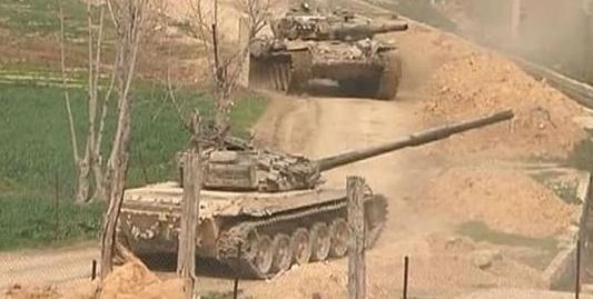 جيش الاسد يستعد لعملية عسكرية قرب الحدود مع الأردن