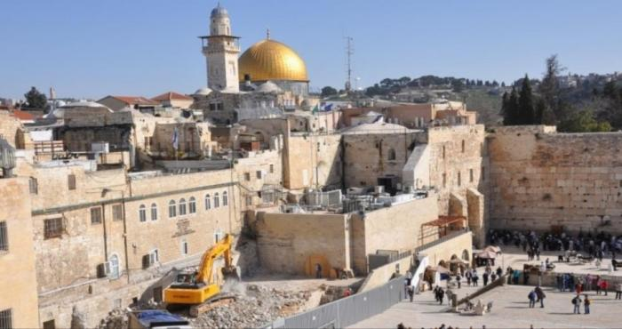 الاحتلال يخصص 60 مليون شيكل لحفريات القدس