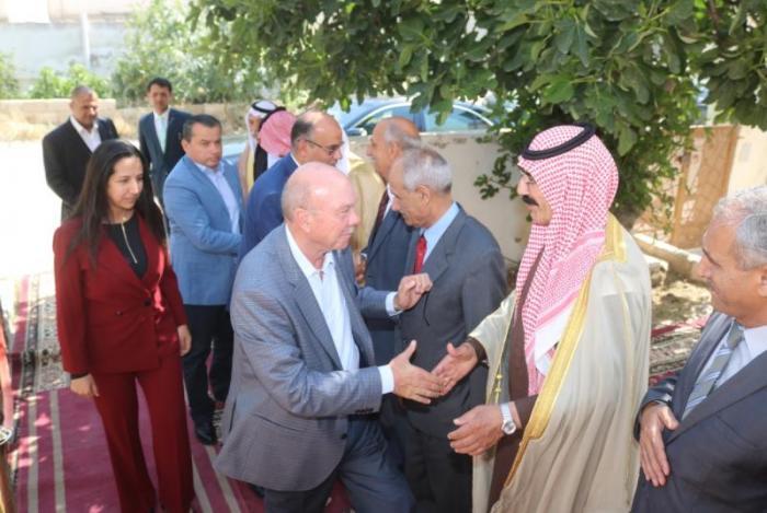 النائب مرام تولم على شرف دولة فيصل الفايز (صور)