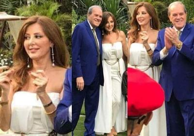 بالصور: ملياردير مصري يتزوّج سورية عمرّها 62 عاماً بحضور ابنتها وحفيدها