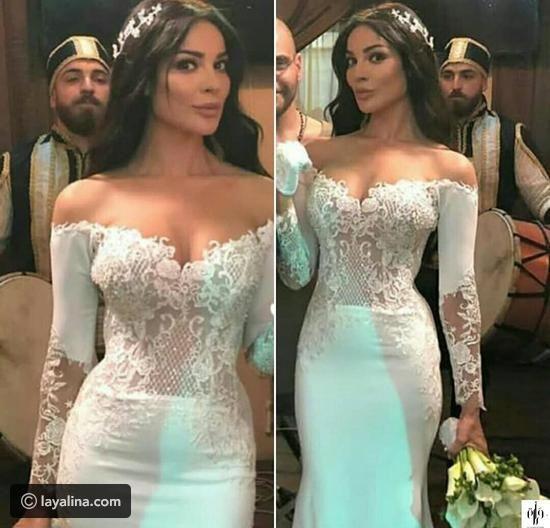 هذا هو ثمن فستان زفاف نادين نجيم في مسلسل طريق