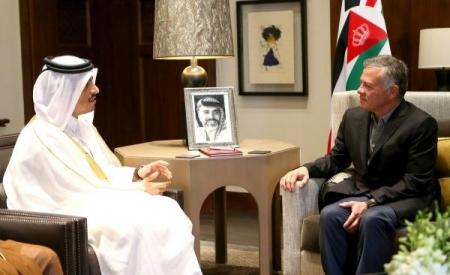 دعم قطري للاردن بـ نصف مليار دولار وتوفير 10 آلاف فرصة عمل
