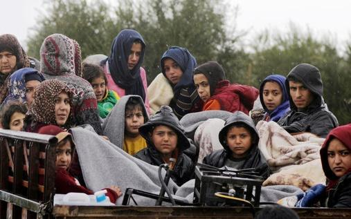 فرار 45 ألف سوري باتجاه الحدود الأردنية