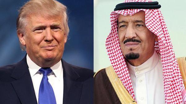 البيت الأبيض يصحح تغريدة لترامب عن الملك سلمان